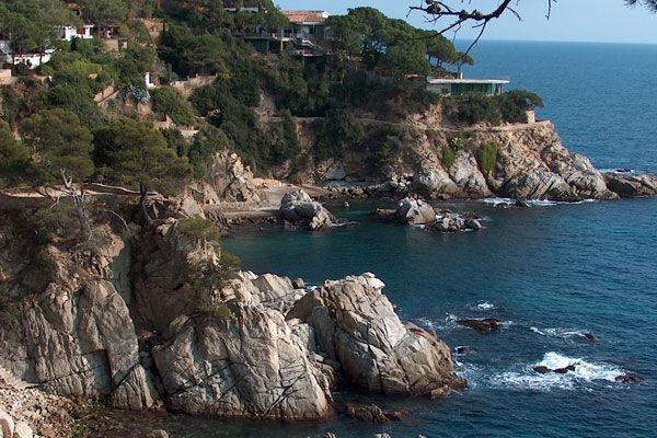 Costa Brava parcours côtière