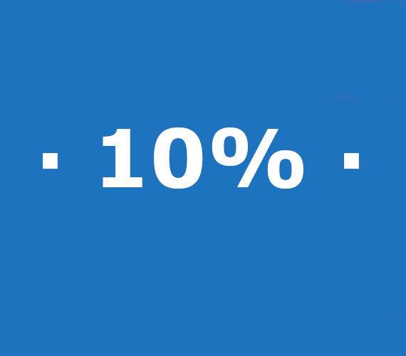 Réservation de 7 à 13 nuits 10% de réduction