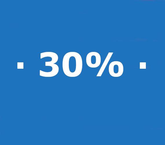 Réservation de 21 nuits ou plus 30% de réduction