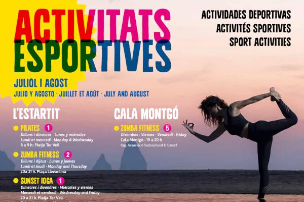 Nouveau programme d'activités sportives pour juillet et août – Juillet 2019