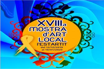 Inauguration de l'exposition d'art local l'Estartit – Décembre 2019