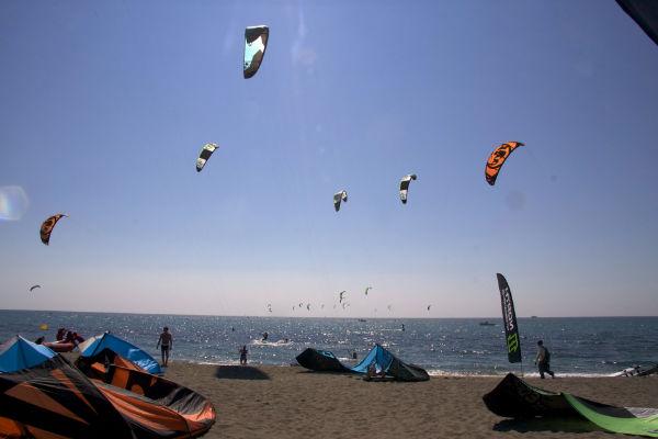 Location appartement à l'Estartit: kitesurf