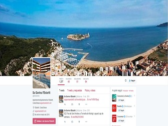 Appartments Sa gavina en location à Estartit actuellement au Twitter