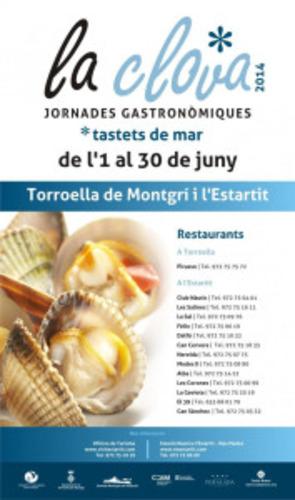 Journées gastronomiques de la clova dans l'Estartit au cours de juin