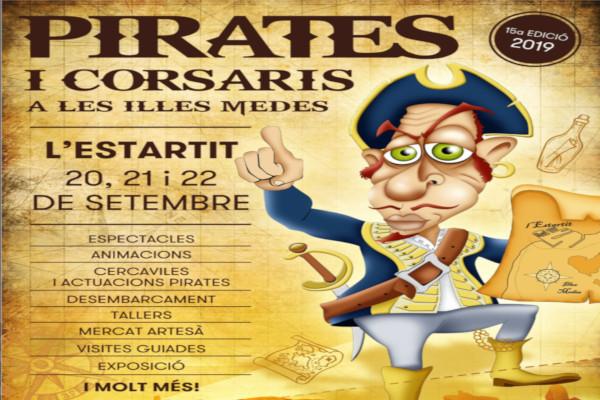 """Nouvelle édition de la """"Fira de Pirates i Corsaris de les Illes Medes"""" – Septembre 2019"""