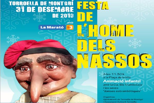 """""""Festa de l'Home dels Nassos""""  – Décembre 2019"""