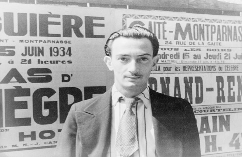 Salvador Dalí et Domènech – Juillet 2020