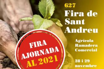 La Fira de Sant Andreu reportée à 2021 – Novembre 2020