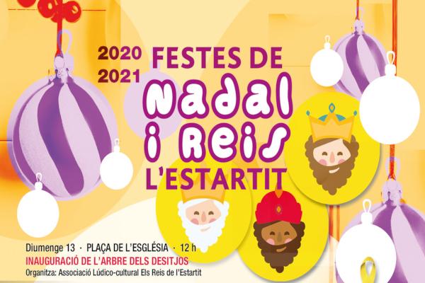 Fêtes de Noël et défilé des Rois Mages à l'Estartit 20-21 – Décembre 2020