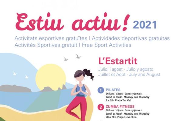 Été actif ! Activités sportives juillet et août à l'Estartit – Juillet 2021